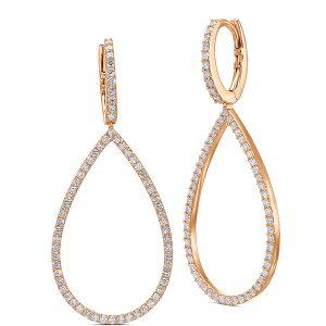 Gypsy Queen Diamond Drop Earrings