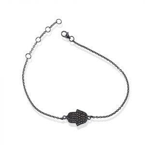 Hamsa diamond Bracelet