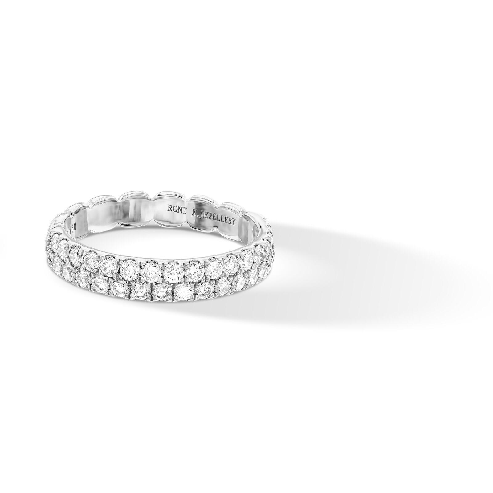 טבעת יהלומים City Stack