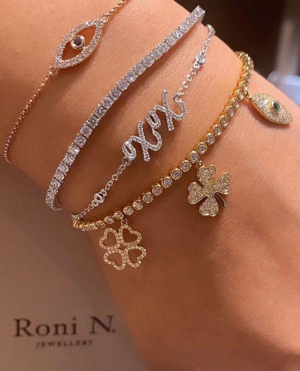 צמידי יהלומים ואבני חן תכשיטים תל אביב